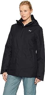 Under Armour Women's UA CGI Powerline Ins Jacket Black/Glacier Gray XL (US 16)