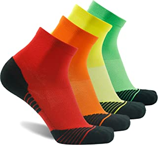 Men's Ankle Socks, NIcool Athletic Sports Running Ankle Compression Socks