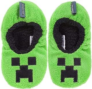 Creeper Boy's Slipper Socks