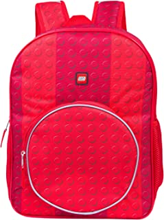 LEGO Classic Red Brick Backpack With Zippered Front Pocket - Red