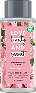 Love Beauty and Planet Champú manteca de muru muru y rosa Blooming Color - 400 ml