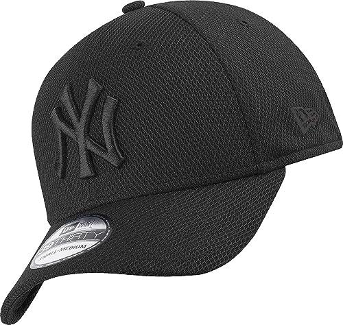 New Era 39Thirty Diamond Cap - NY Yankees Noir