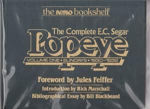 The Complete E.C. Segar Popeye, Vol. 1: Sundays, 1930-1932 (The Nemo Bookshelf)