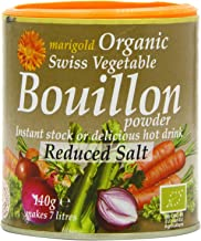 Marigold Org Veg Bouillon Powder R Salt 140g