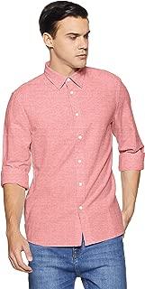 Calvin Klein Jeans Men's Solid Regular Fit Formal Shirt