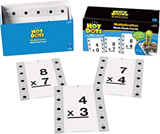 hot dots flash cards