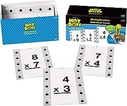 Educational Insights Hot Dots Math Flash Cards- Multiplication