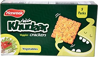 Haweek Khudaar Crackers, 110g - Pack of 5