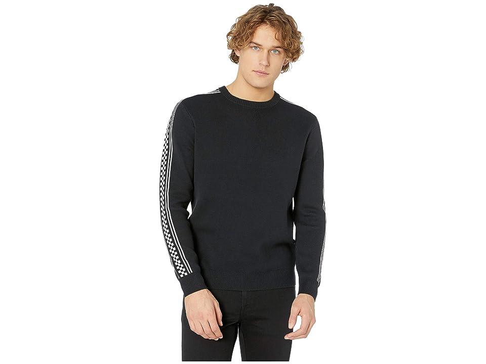 Vans Check Yo Sleeve Sweater (Black) Men