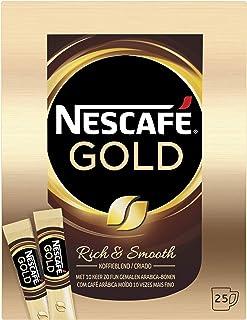 Nescafé Gold oploskoffie - 6 doosjes à 25 zakjes