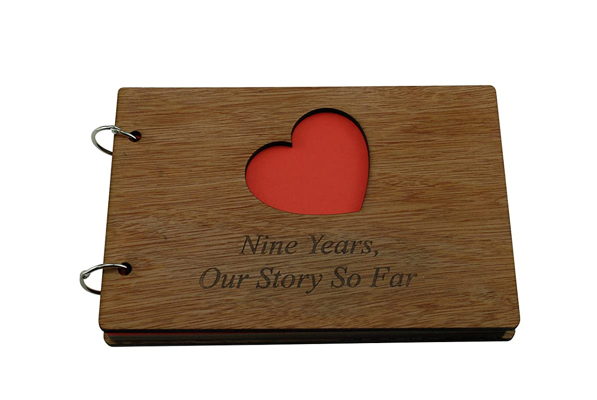 9 Years Our Story So Far - Scrapbook, Photo album or Notebook Idea For 9th Anniversary