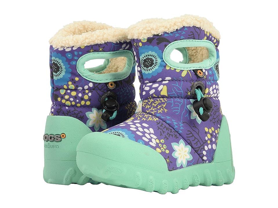 Bogs Kids B-Moc Reef (Toddler/Little Kid) (Purple Multi) Girl