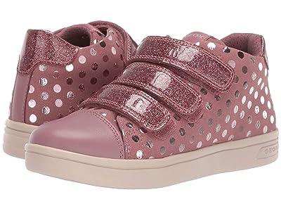 Geox Kids Jr Djrock 36 (Little Kid/Big Kid) (Dark Pink) Girls Shoes