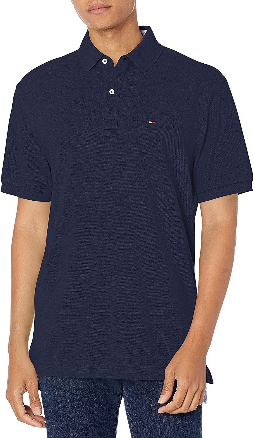 Tommy Hilfiger Men's Big & Tall Short Sleeve Polo in Classic Fit