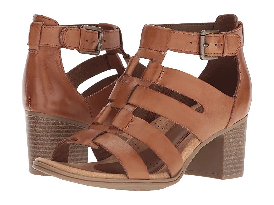 Rockport Cobb Hill Collection Cobb Hill Hattie Gladiator (Tan Leather) Women