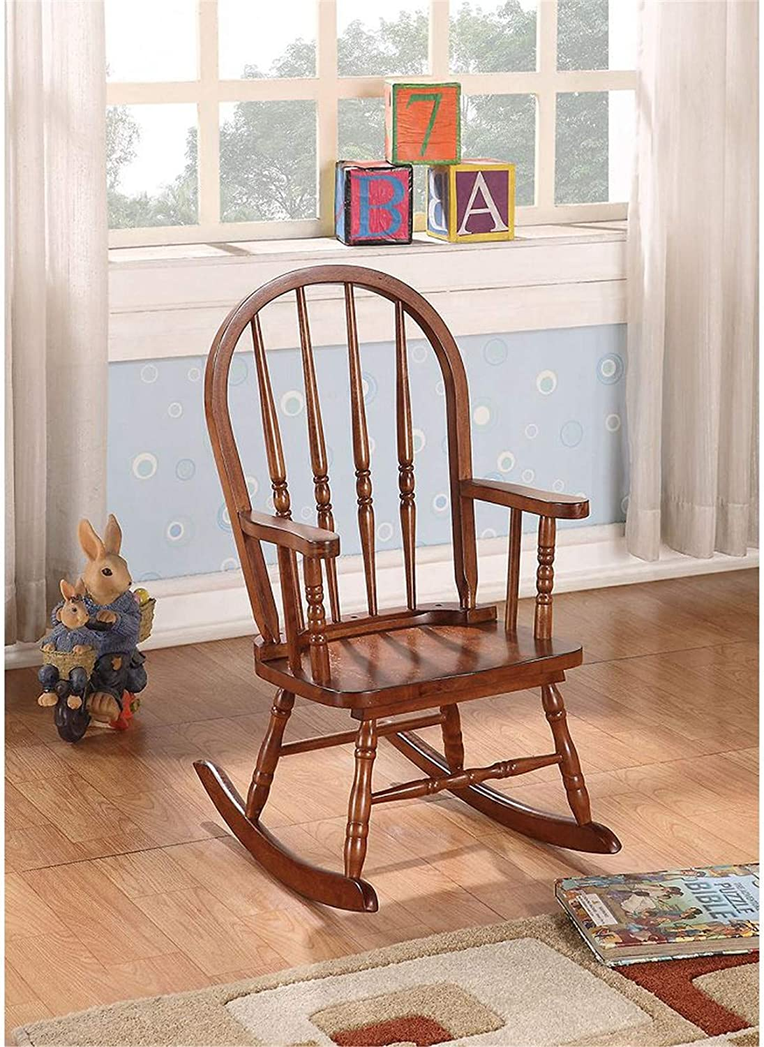 Year-end Wholesale gift Wooden Outdoor Chairs Rocking Chair for Nursery Indoor