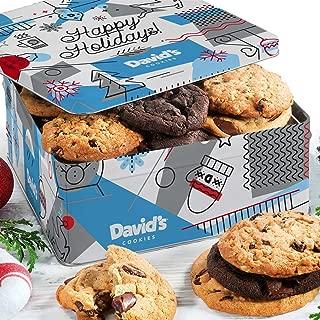 David's Cookies — Assorted Fresh-Baked Winter Wonderland Christmas Gift Tin — 2 Lb