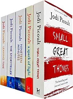 Jodi Picoult 5 Books Collection Set (Small Great Things, A Spark of Light, The Storyteller, Leaving Time & Nineteen Minutes)