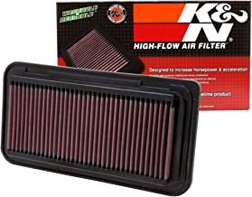 K&N engine air filter, washable and reusable: 2005-2019 Toyota/Subaru/Scion H4 2.0 L (86, Gt 86, BRZ, FR-S) 33-2300