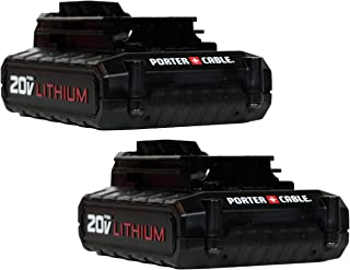 Porter Cable 20V MAX Lithium Ion Battery (PCC681L) (2-Pack)