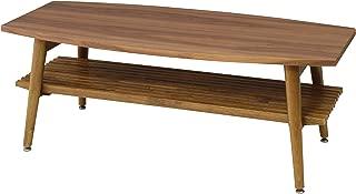 AZUMAYA Folding Wooden Coffee Center Table NET-614
