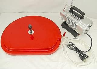 Package Deal! BLUEROCK Model Z1VB Universal Vacuum Base & Vacuum Pump