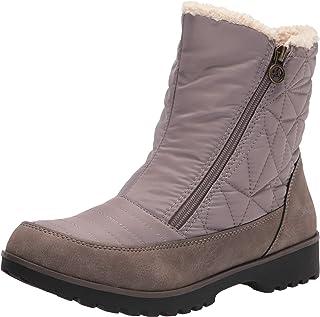 JBU by Jambu Women's Snowflake Waterproof Winter Boot, Taupe, 6