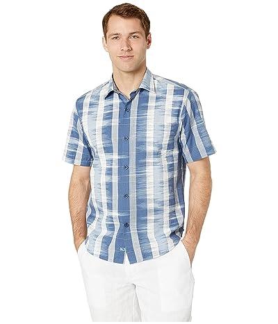 Tommy Bahama Who Got Ikat Shirt (Ocean Deep) Men