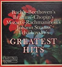 Bach's-Beethoven's-Brahms'-Chopin's-Mozart's-Rachmaninoff's-Johann Strauss'-Tchaikkovsky's Greatest Hits [ LP Vinyl ]