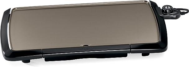 "Presto 07055 Cool-Touch Electric Ceramic Griddle, 20"", Black"
