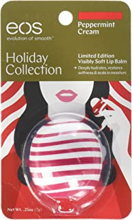 EOS Limited Edition Peppermint Cream Lip Balm Sphere ~ Holiday Collection 2017