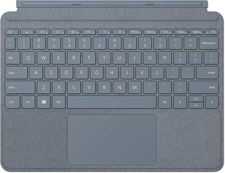 NEW Microsoft Surface Go Signature Type Cover - Ice Blue (Renewed)