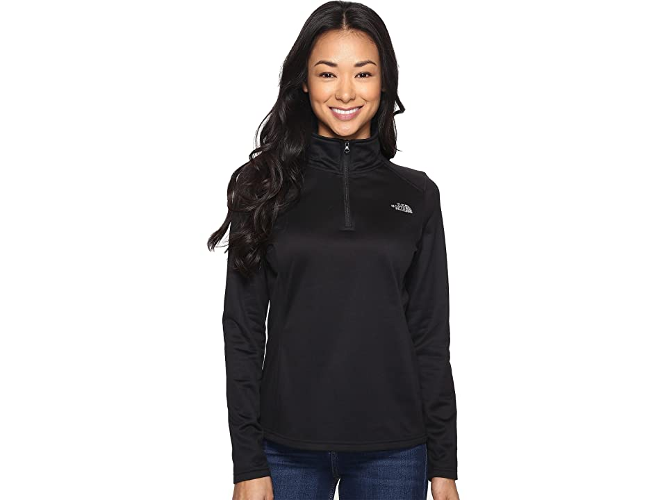 63b124fb86 The North Face Tech Glacier 1 4 Zip (TNF Black) Women