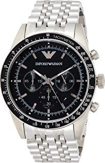Emporio Armani Dress Watch For Men Analog Stainless Steel - AR5988