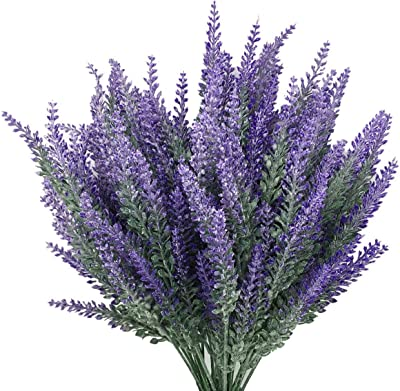 Artifical Lavender Flower Bouquet Fake Plant Home Wedding Party Office Decor Y2