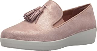 b37c51e9 FREE Shipping on eligible orders. FitFlop Women's Tassel Superskate Shimmer  Loafer