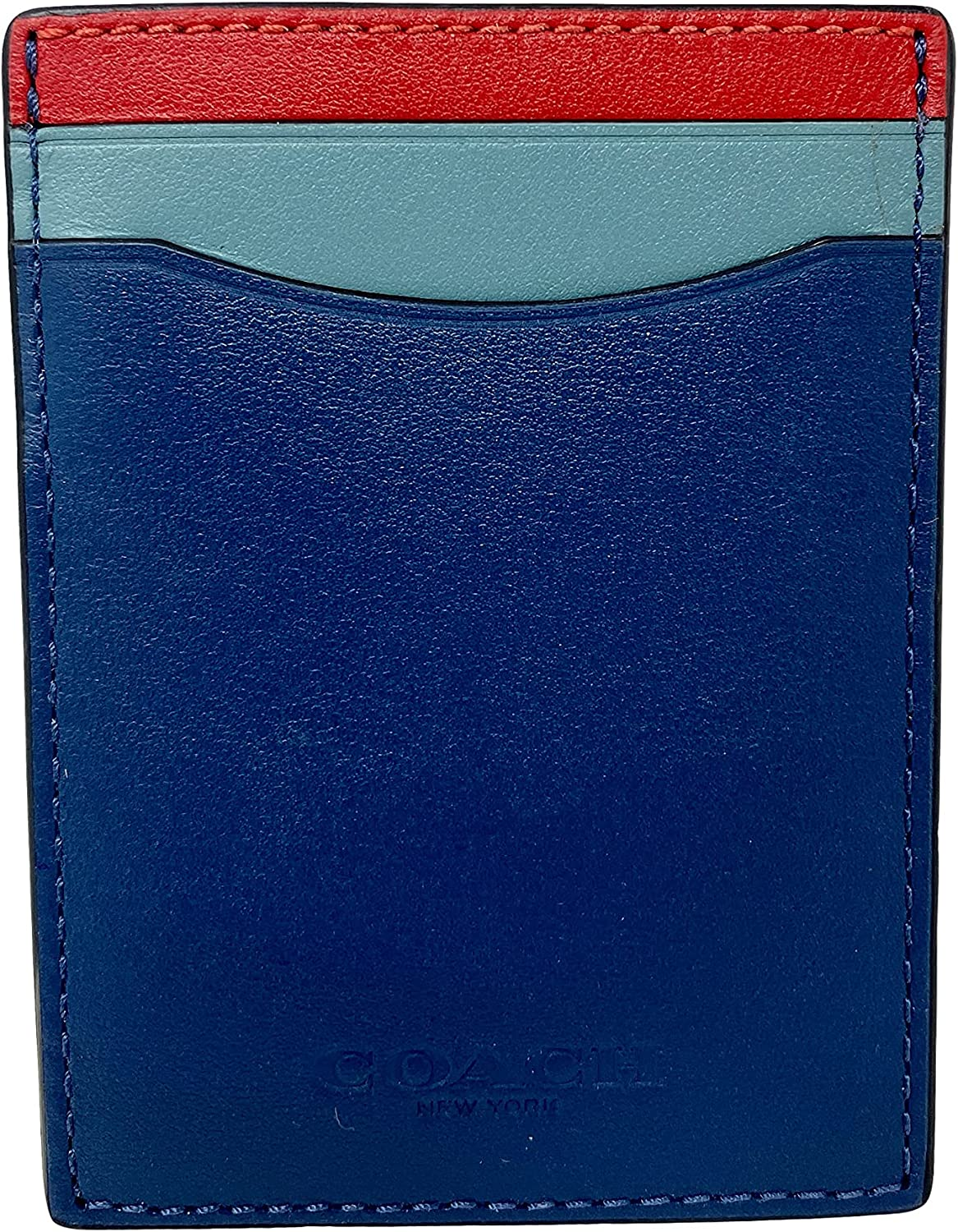 Coach Boxed 3-In-1 Card Case Gift Set In Colorblock