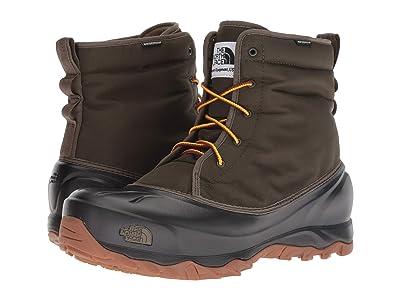 The North Face Tsumoru Boot (Tarmac Green/TNF Black) Men