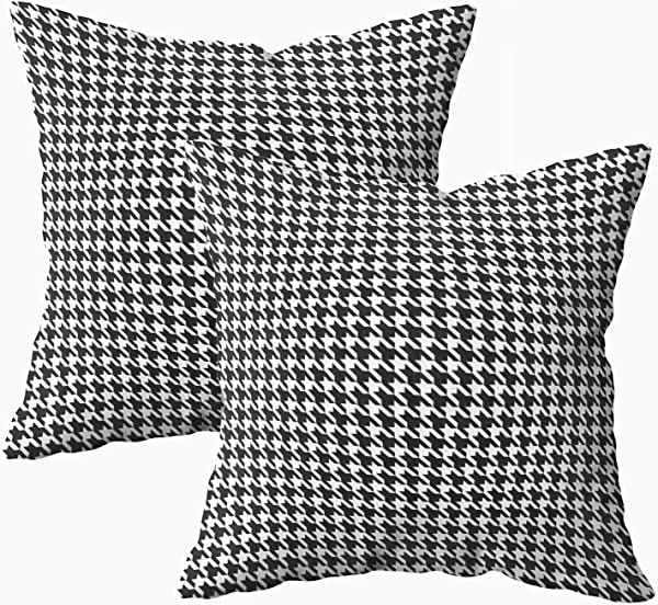 Musesh 水彩枕头套包月千鸟格图案的沙发家居装饰枕套法令》个法令》英寸枕头套
