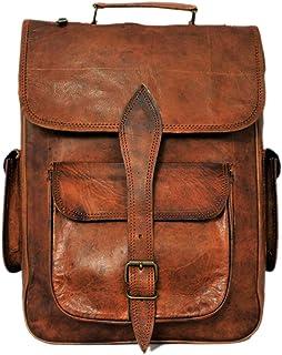 Handmade Genuine Leather Backpack Laptop Bag for Men Women Gift for Him Her