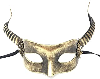 Storm Buy] Ram Goat Unisex Men/Women Masquerade Mask Halloween Mardi Gras Cosplay Party