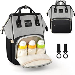 Vemingo Diaper Backpack Multi-Function Mommy Baby Nappy Travel Maternity Bag