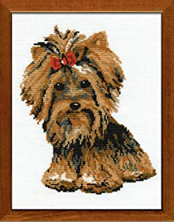 RIOLIS 825 - Yorkshire Terrier - Counted Cross Stitch Kit 7¾