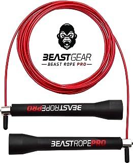 comprar comparacion Beast Rope Pro de Beast Gear – Comba para Saltar de Alta Velocidad para Fitness y Acondicionamiento. Para CrossFit, Boxeo,...