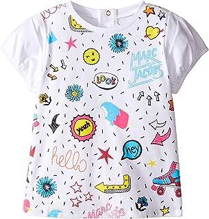 [マークジェイコブス] Little Marc Jacobs レディース Panda Or All Over Printed Short Sleeve Tee Shirt (Infant) トップス [並行輸入品]