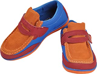 Yellow Bee Boys Sneakers, Blue