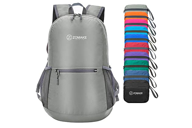 ZOMAKE Ultra Lightweight Packable Backpack Water Resistant Hiking Daypack 62f1bdec33583