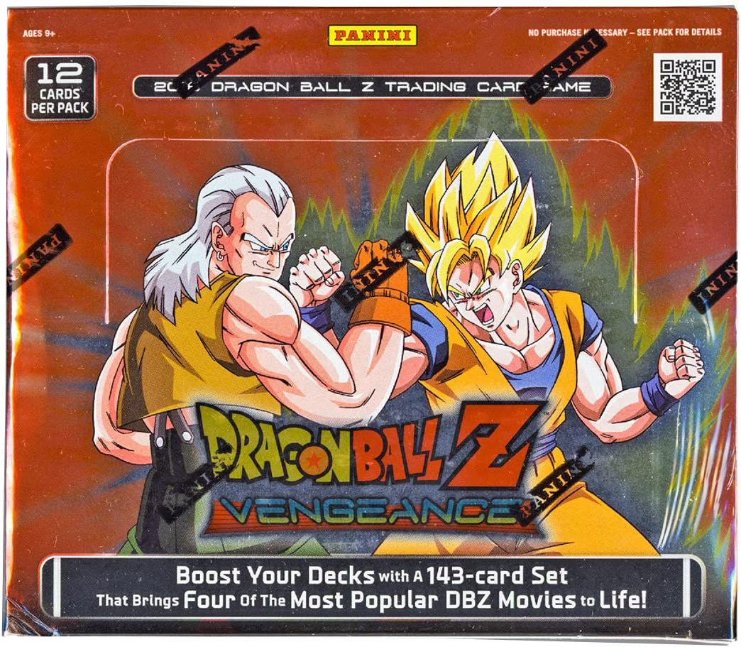 Dragonball Z Ranking TOP9 2016 Vengeance Box Ranking TOP6 Booster