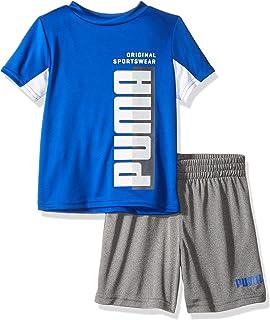 PUMA Boys Boys' T-Shirt & Short Set Shorts Set