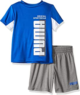 PUMA Boys Boys' T-Shirt & Short Set Shorts Set